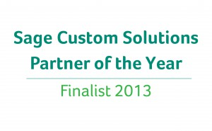 Sage Custom Solutions Partner of the Year Finalist