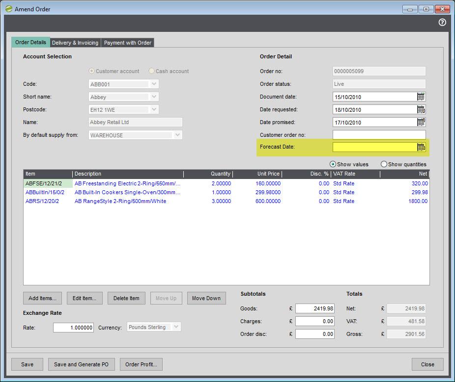 Software Licence Agreement - Sage One - Login