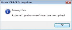 Sicon Enhancement Pack Exchange Rates Update