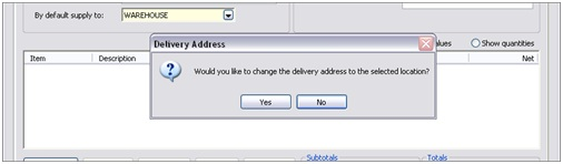 Sicon Enhancement Pack PO Delivery Address Amendment
