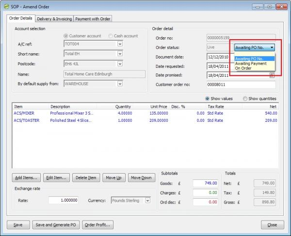 Sicon Enhancement Pack SOP customisable so status