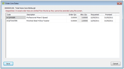 Sicon Enhancement Pack SOP so dates on single screen