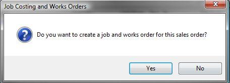 Sicon Works Order Processing Works Order Flow Tab