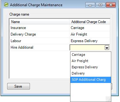 Hire Manager Additional Charge Maintenance