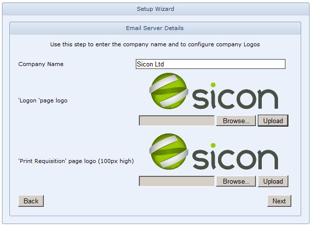 WAP Install - Name and Logo