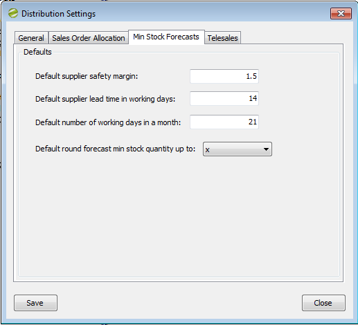 Distribution Manager Help and User Guide Distribution Settings 2