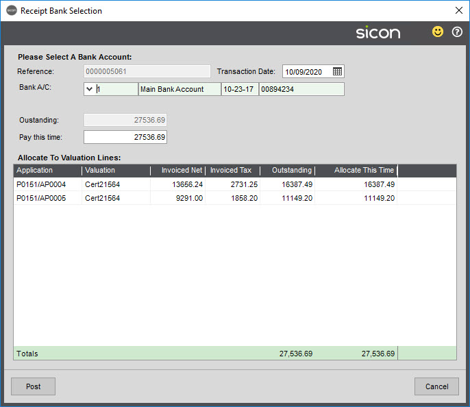 Sicon Construction Help and User Guide - 1.7-9