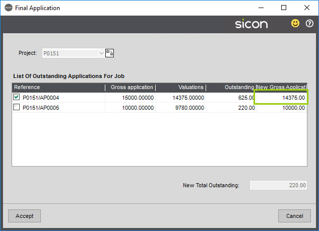 Sicon Construction Help and User Guide - 1.8-3