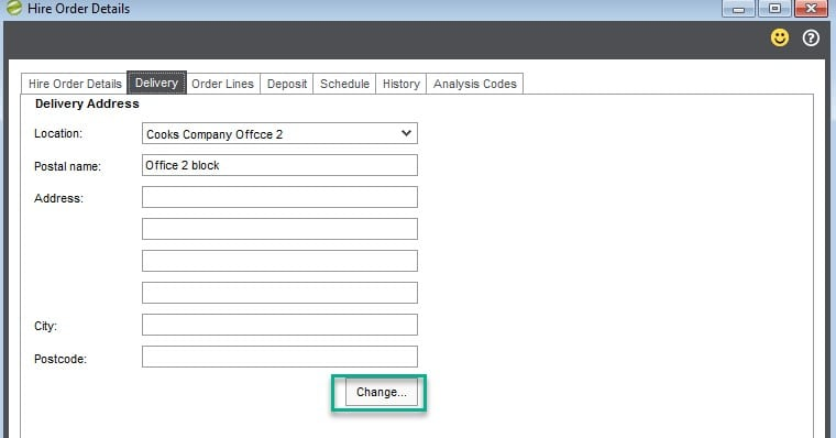 Hire Manager New Hire delivery TAB