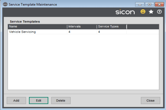 47. Sicon Service Help and User Guide - Service Templates 5