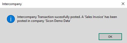Sicon Intercompany Help and User Guide - 6.3 Intercompany Confirmation