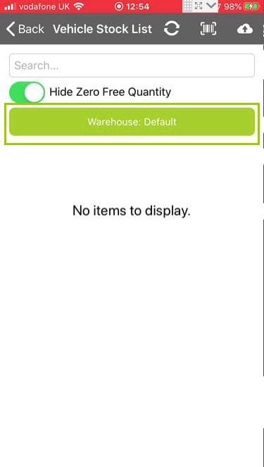 Sicon Service Help and User Guide - Ad-Hoc screen 13