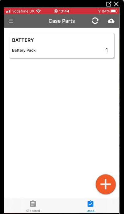 Sicon Service Help and User Guide - Ad-Hoc screen 16