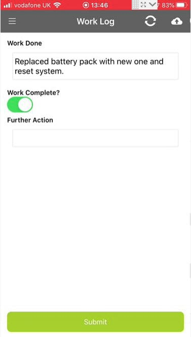 Sicon Service Help and User Guide - Ad-Hoc screen 17