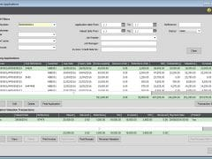 Customer Applications Ledger