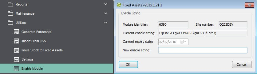 Sicon Fixed Assets Enable Module