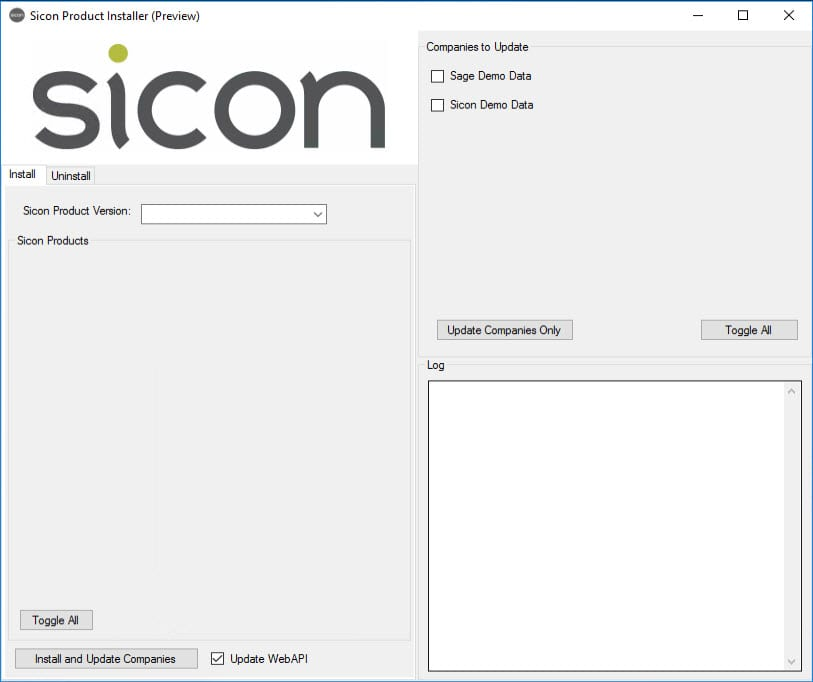 Sicon Product Installer - Image 1