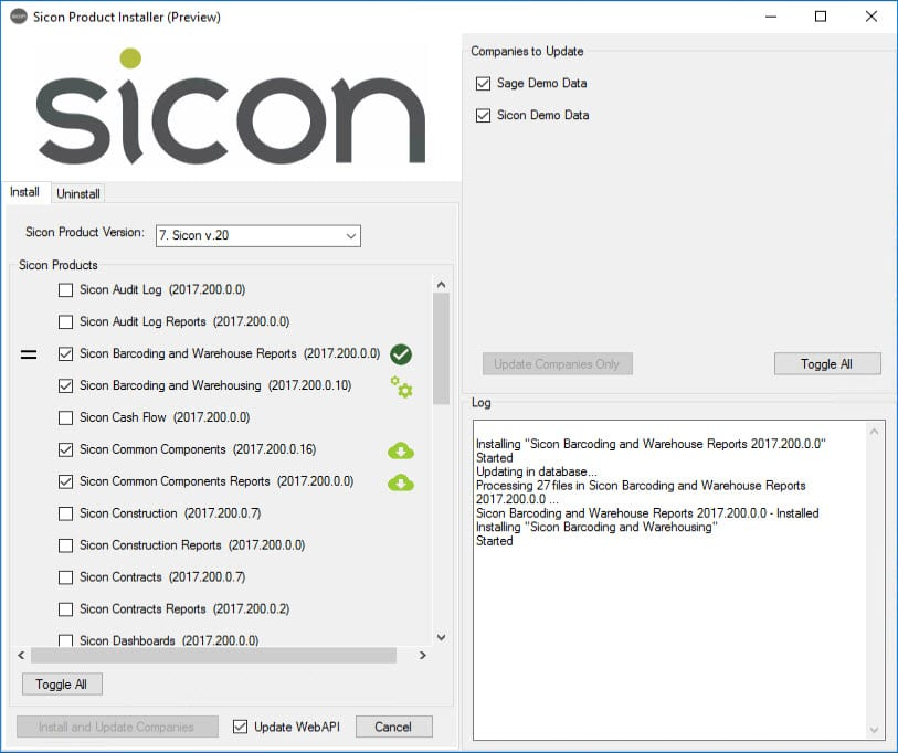 Sicon Product Installer - Image 3