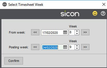 Sicon Job Costing Help and User Guide - MJH screen 11