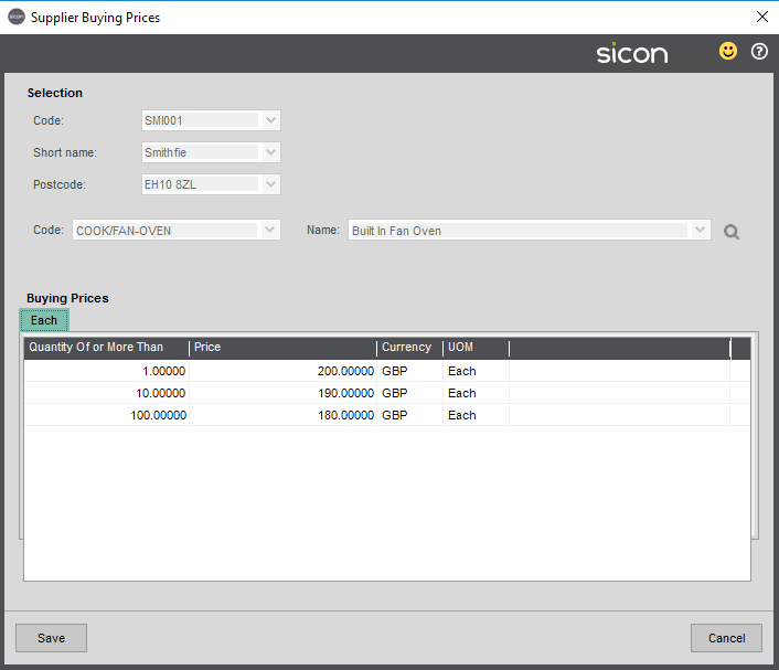 Sicon MRP Help and User Guide - Pic8