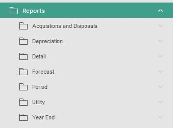 Sicon Fixed Assets Reports