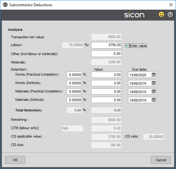 CIS Help and User Guide   Sage 200   Sicon Ltd