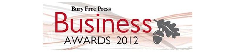 Bury Free Press Awards Logo 2012
