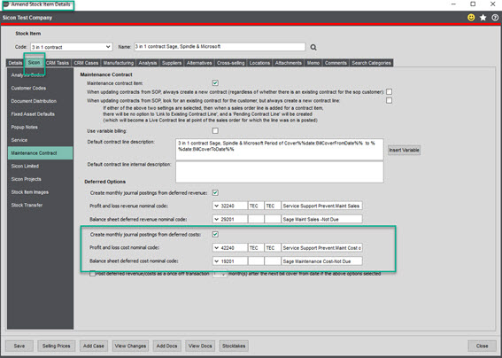 Sicon Contracts Help and User Guide - contract 5.1 image 6