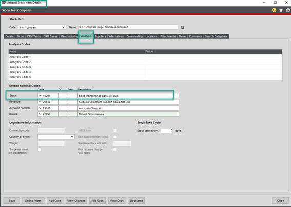 Sicon Contracts Help and User Guide - contract 5.1 image 7