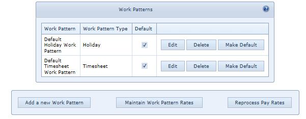 3. Work Patterns 2