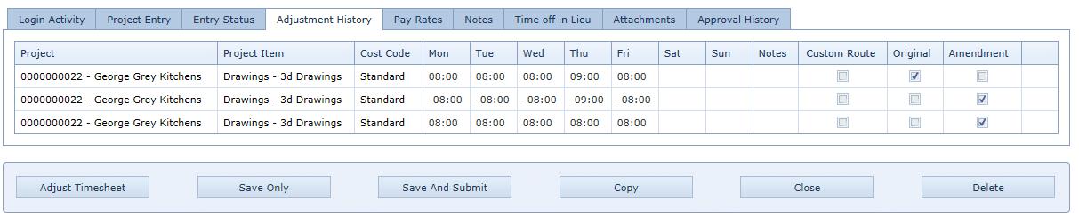 4.4 Adjustment History 2