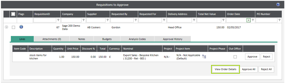 Sicon WAP Approval Routes Help and User Guide - User Type Approval Permissions 2