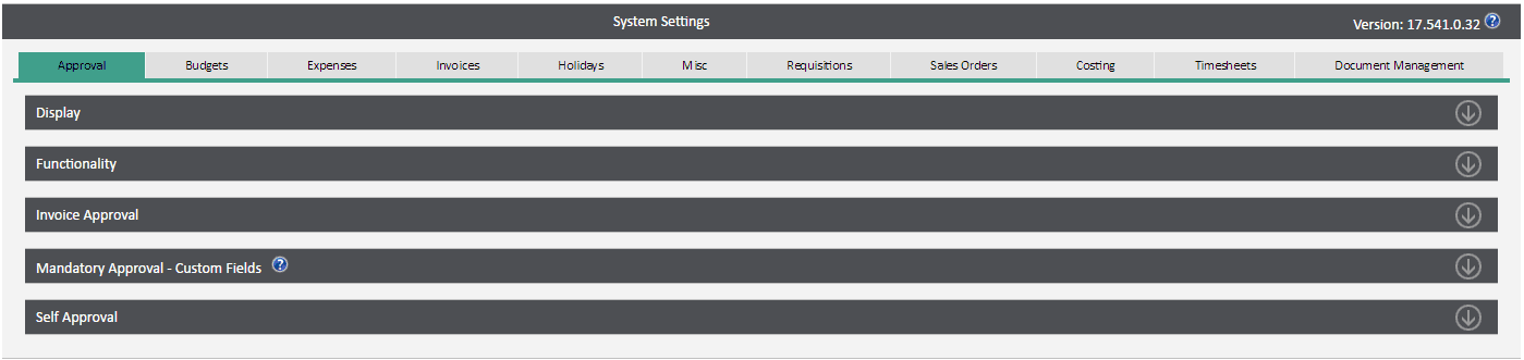 Sicon WAP System Settings Help and User Guide