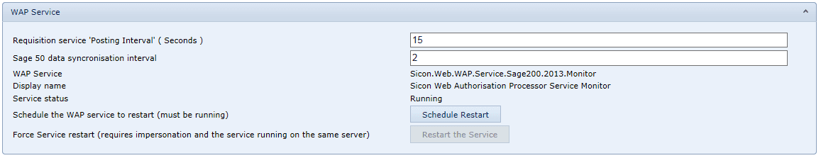 WAP service