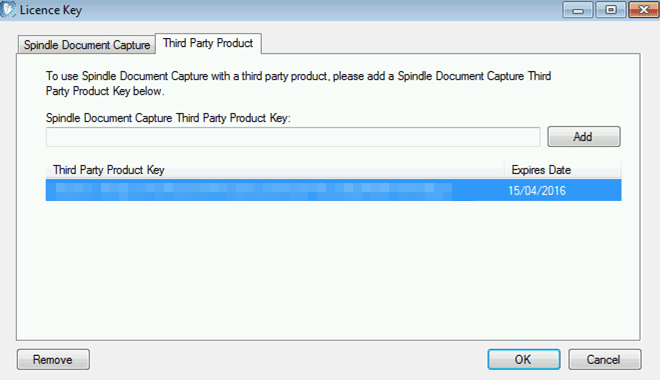WAP System Settings Help and User Guide - Third Party Product Tab