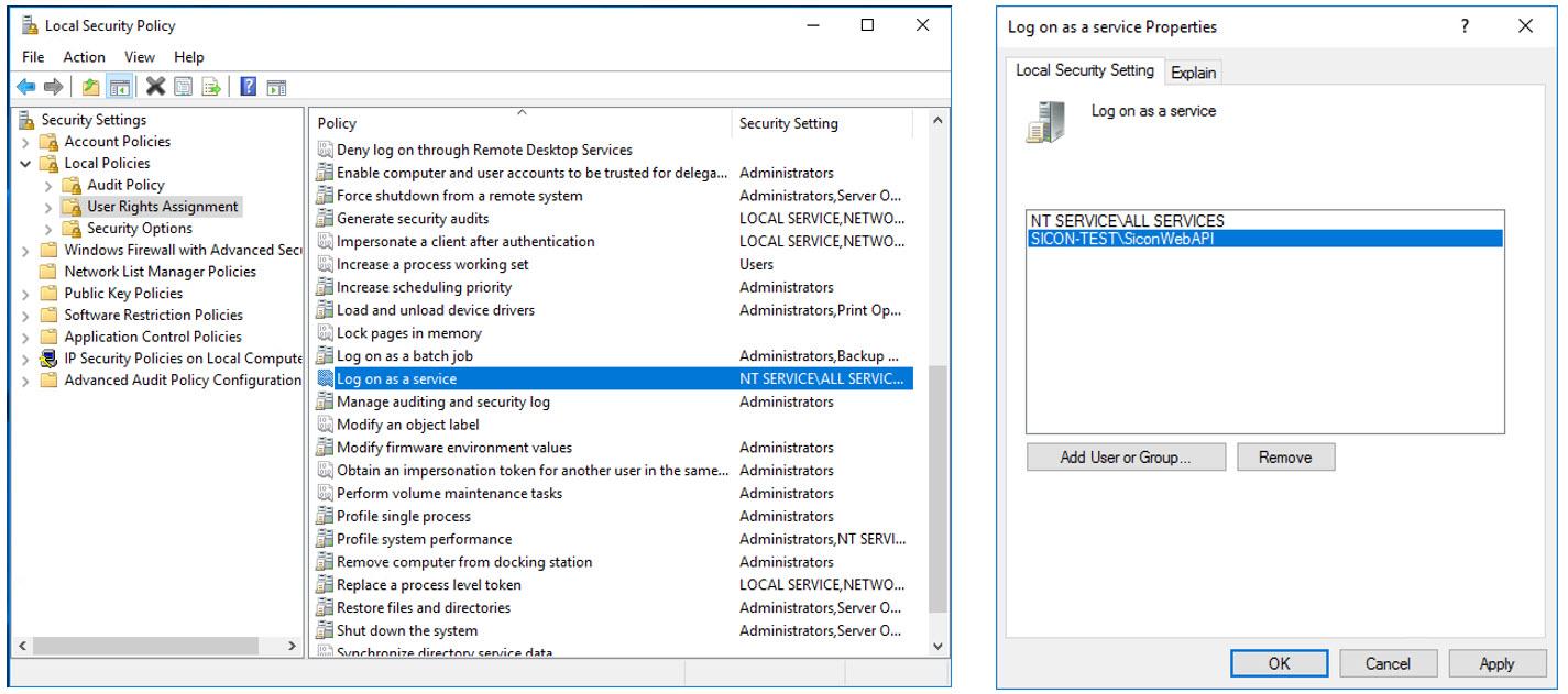 Sicon Sage200 WEB API - Local Security