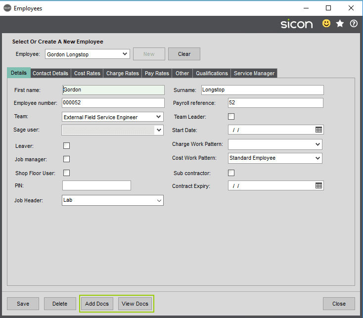 Sicon Documents Help and User Guide - DMS with Sicon Common