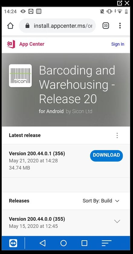 Sicon Barcoding & Warehousing Help and User Guide - Pic6