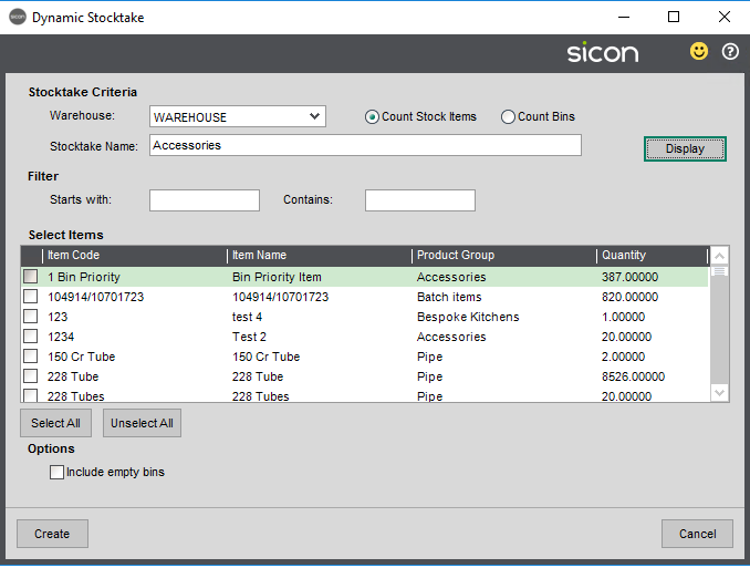 Sicon Barcoding & Warehousing Help and User Guide - SP 16