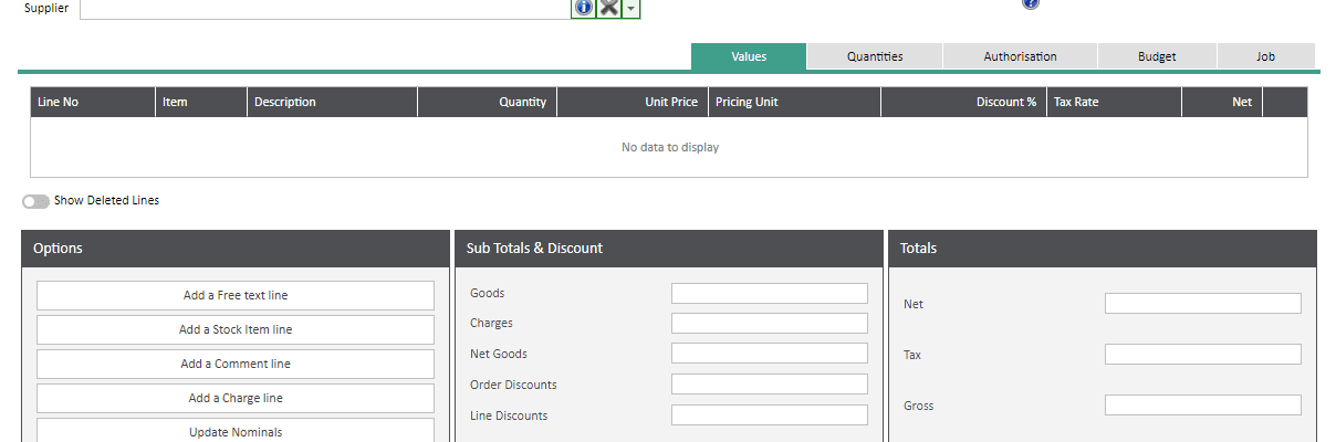 Sicon WAP Help and User Guide Requisitions Module - Order Details