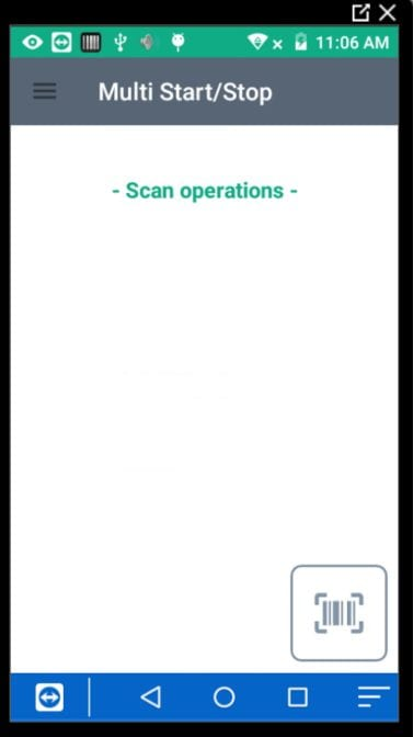 25. Shop Floor Data Capture Help and User Guide - multi start stop