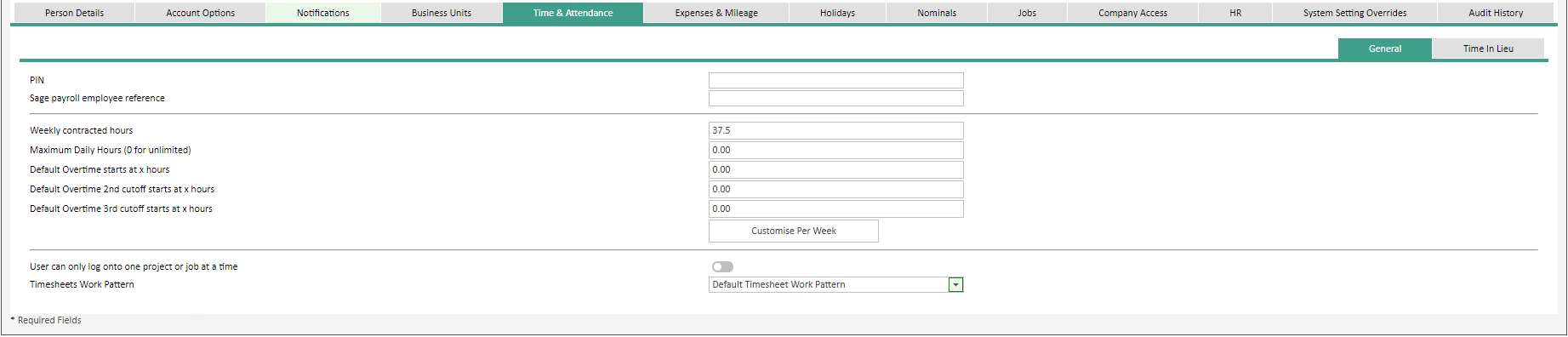 Sicon WAP User Settings Help and User Guide - Users HUG Image Section 26.6 Image 1