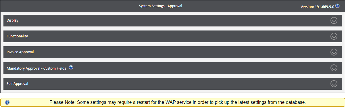 Sicon WAP System Settings Help and User Guide - WAP System HUG Section 1 Image 1