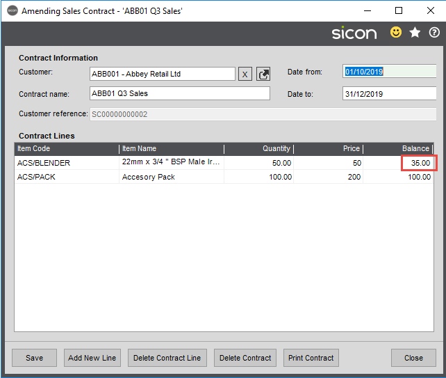 Sicon Distribution Help and User Guide - 3.2.4