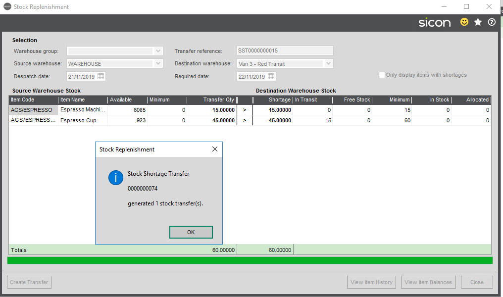 Sicon Distribution Help and User Guide - 5.9.2