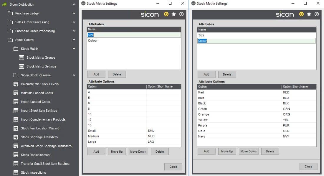 Sicon Distribution Help and User Guide - Distribution HUG Section 5.1 Image 1