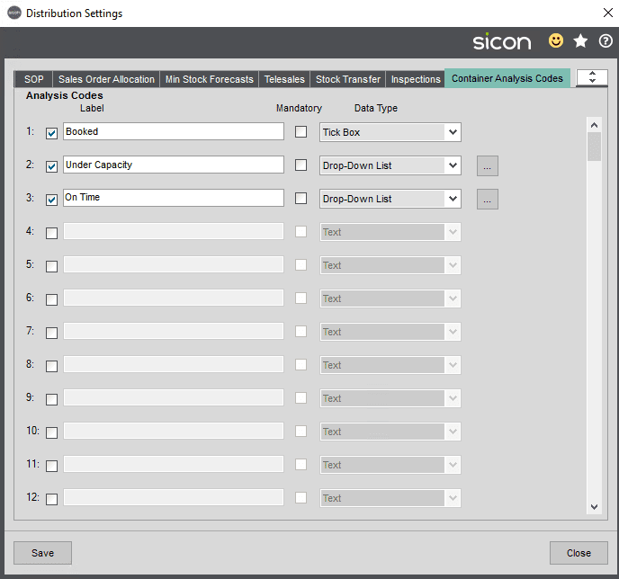 Sicon Distribution Help and User Guide - Image 10.1.10