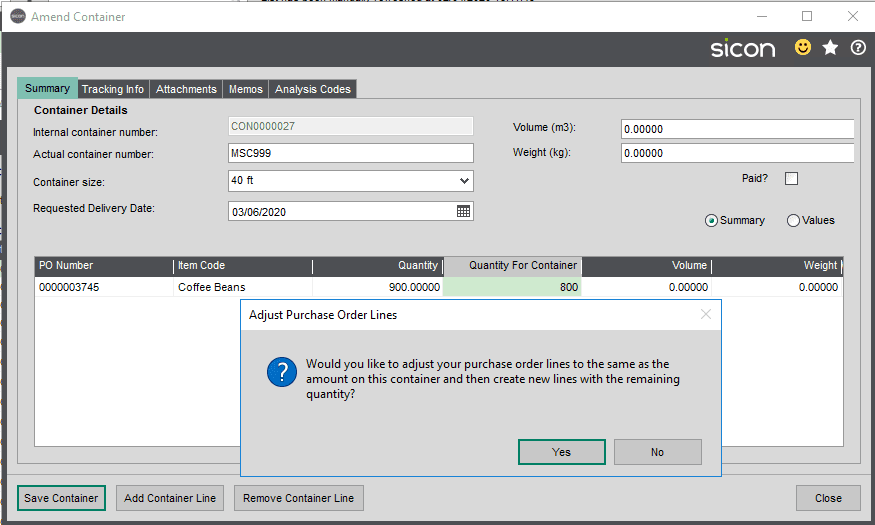 Sicon Distribution Help and User Guide - Image 4.1.10