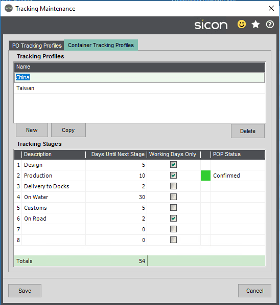 Sicon Distribution Help and User Guide - Image 8.4.2