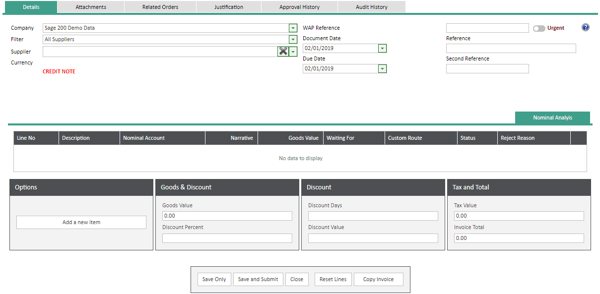 Sicon WAP Invoice Module Help and User Guide - Invoice Image 67 - Section 11